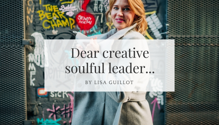 Coaching for creative soulful leaders